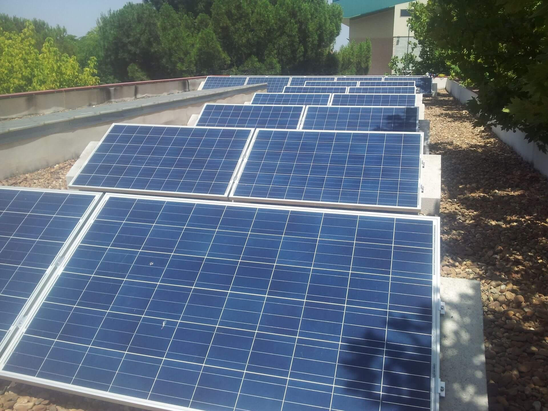 Placas solares La Albuera