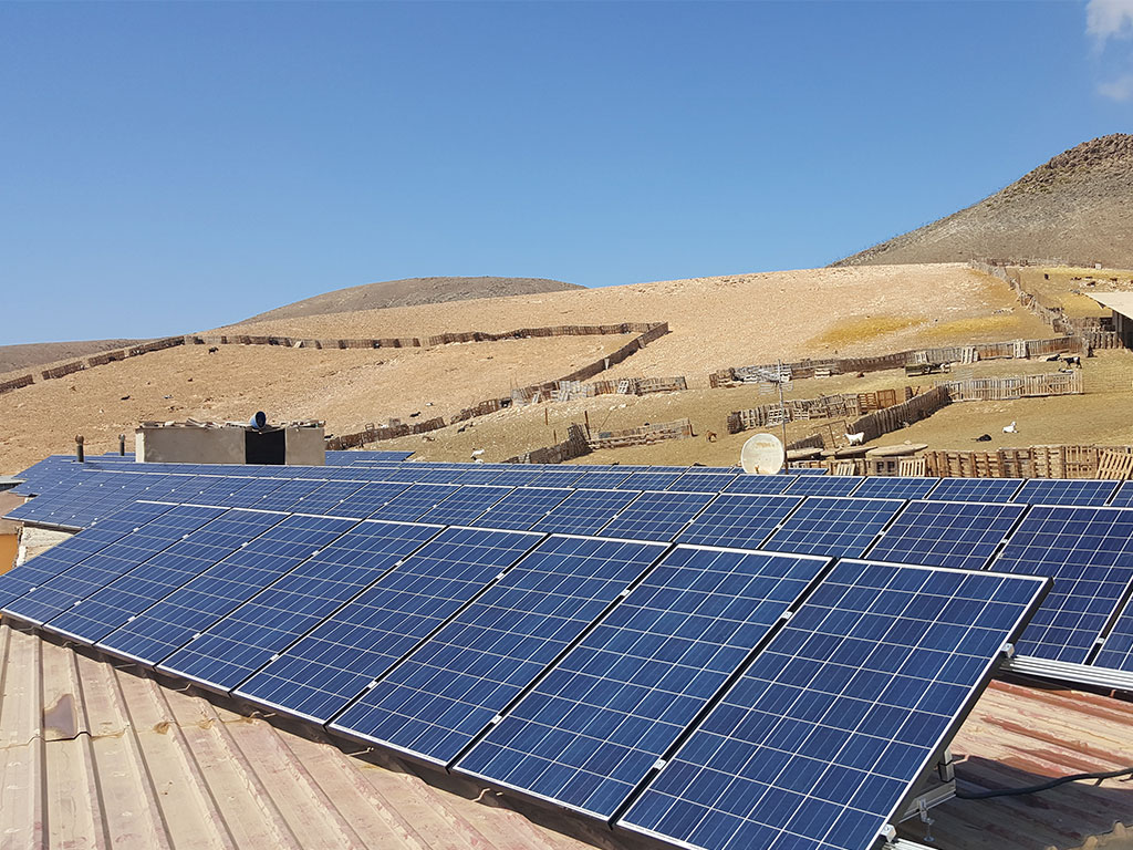 Planta Solar Aislada Canarias